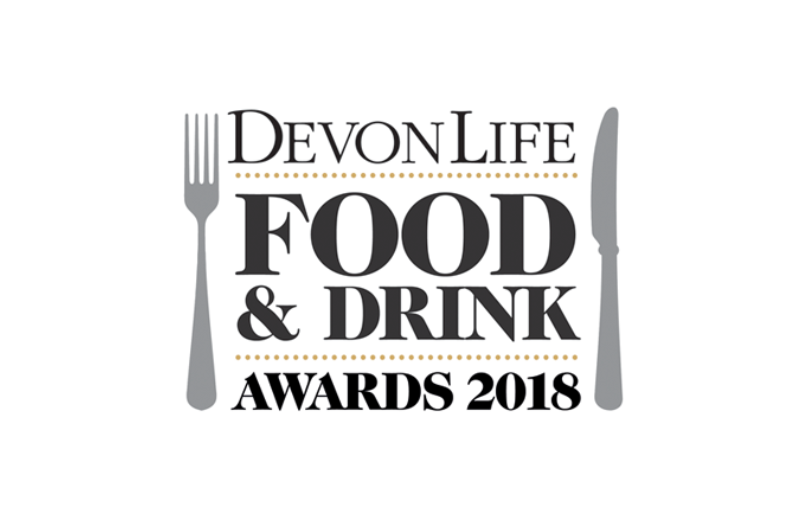 Finalist for Pub Of The Year in the Devon Life Food and Drink Awards 2018