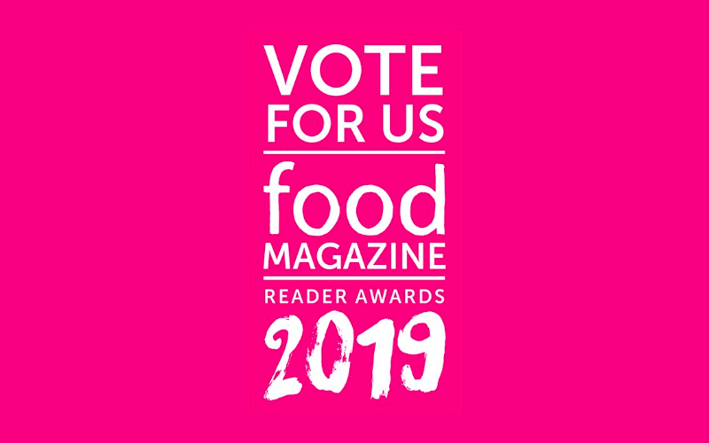 Vote for Food Reader Awards