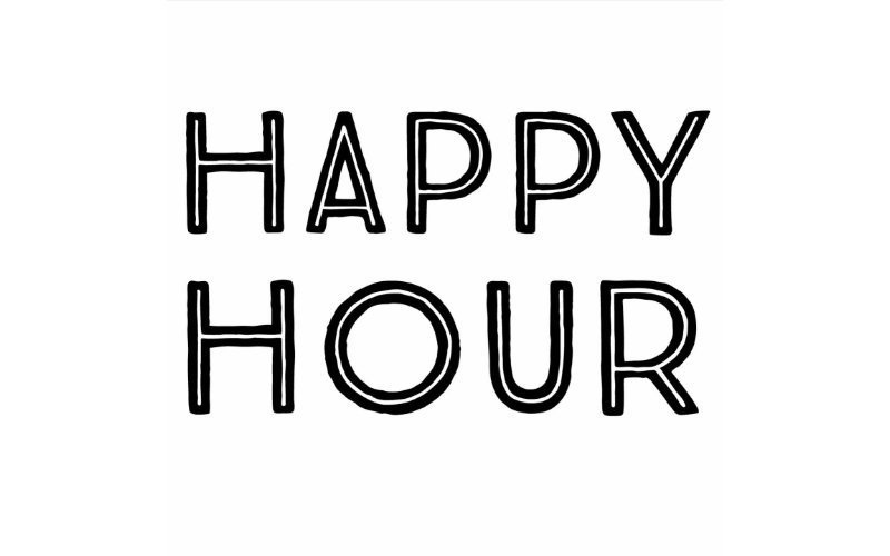 Friday & Saturday Happy Hour